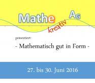 Mathe kreativ