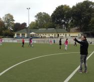 weibl. B-Jugend vom Spiel am 21.10.2015