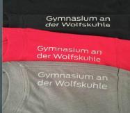 T-Shirts mit großem Wolf