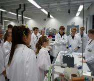 Bio-LK im Alfried-Krupp-Schülerlabor der Uni Bochum