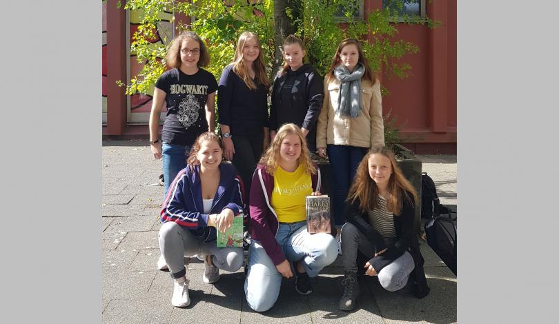 Team der Schülerbücherei