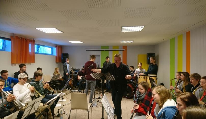 Big-Band-Proben in Morsbach