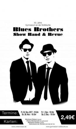 Ankündigung Blues Brothers